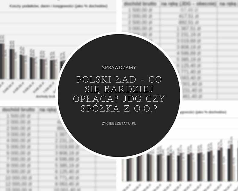 polski ład spółka z o.o. jdg